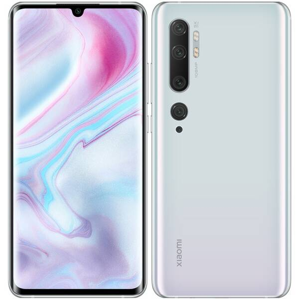 Xiaomi Mi Note 10, 128 GB Glacier White